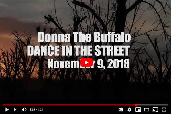 Video: Donna The Buffalo: Making Dance In The Street